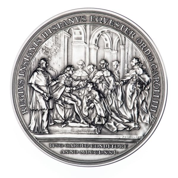 RealAprecio-Medalla Anverso