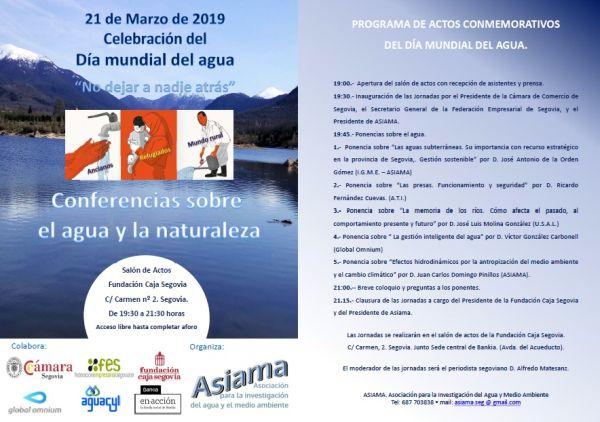 Dia del Agua2019_programa